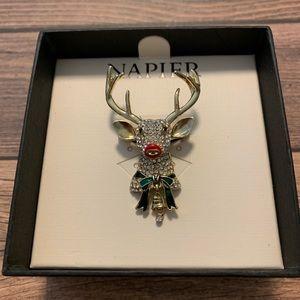 Napier Reindeer Brooch